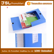 Custom Color Logo Imprinted Office Plastic File Storage Box