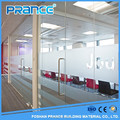 Service first series aluminum frame ground glass partition wall in the bathroom