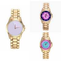 Personalized Sublimation Blank Watch, Stainless Steel Monogramed Unisex Watches
