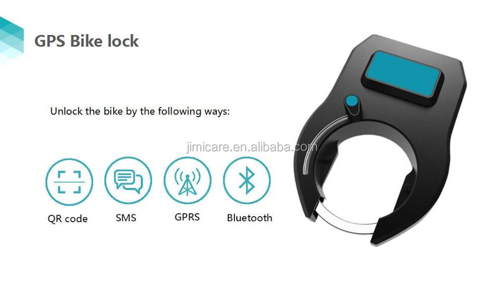 GPS Bluetooth Bike Lock Automatic Bike Lock with APP