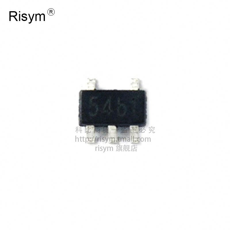TP4054 lettering 54 b lithium battery charging IC package SOT23-5--RIS3 IC part