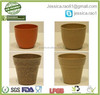 bamboo fibre biodegradable and eco friendly mini bio pot garden flower pot