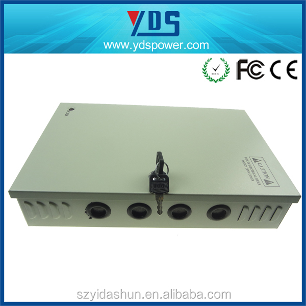 free samples12v 360w customized centrol box cctv power supply Battery Charger Regulated Power Supply 1 year warranty guarantee