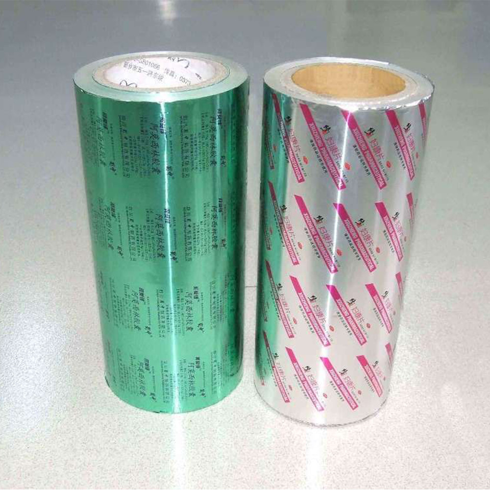 For Medical Use Capsules Pill Packaging Aluminium Foil