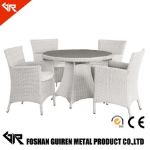 Elegant royal white rattan marble wick comfortable luxury living room bedroom furniture sets