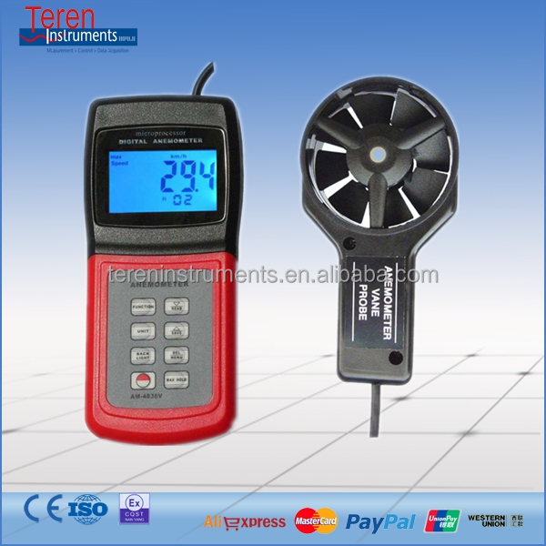 DigitaL-meter Anemometer , High quality Anemometer , by Ocean Shipping