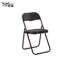 cheap colorful padded metal folding chairs with competitive price wholesale