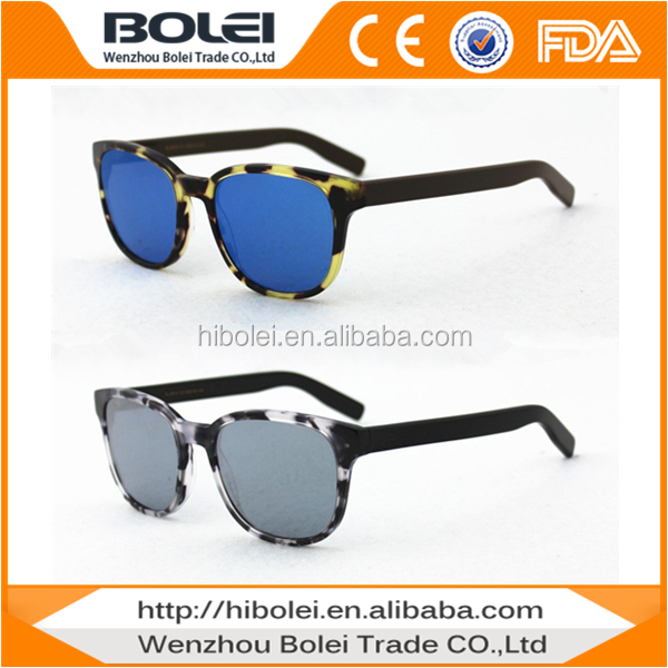 quality real revo lens acetate hot fashionable brand sunglasses