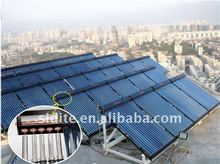 CE split high press solar water heater system 500 L double pipe