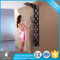 The Most Popular Deluxe Laser Lamp Wall Mounted Shower Panel Units