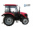 ENFLY DQ554G 55hp 4WD cheap chinese tractor with A/C air-conditioner cabin, front end loader