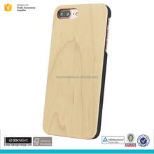 Real maple wood case for iphone 7 plus