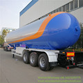 3 axles 46 CBM lpg dispenser trailer