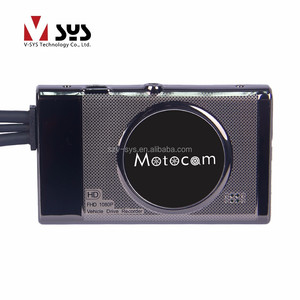 "1080P and VGA dual lens 3.0"" TFT screen Driver Recorder HD Car DVR camera wholesale motorcycle parts"