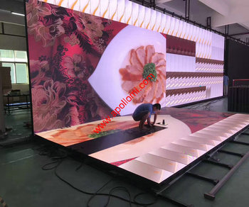 indoor rental led screen billboard PH3.91mm display electronic