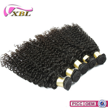 Malaysian Brazilian Peruvian 100 real human remy hair , curly hair layers