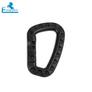 Plastic Hiking Military Carabiner Snap Hook for sale