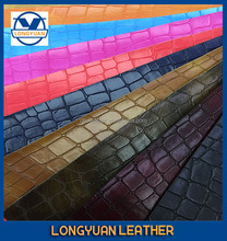 Raw Materials for Handbags Leather Fabric for shoes