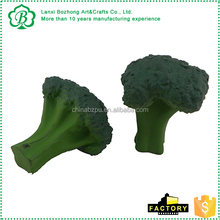 Main product promotional green broccoli stress ball