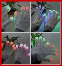 Led Glitter Gloves Supplier From China
