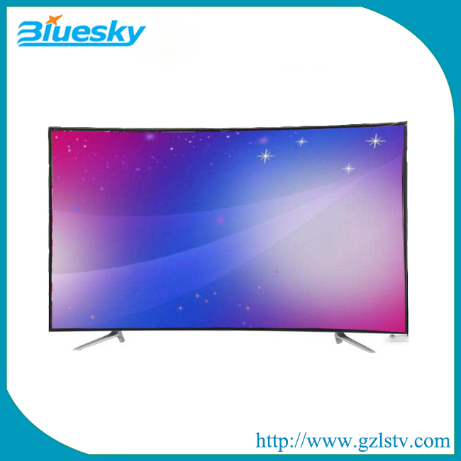 Factory OEM brand 4K Curved surface screen 3D vision led tv