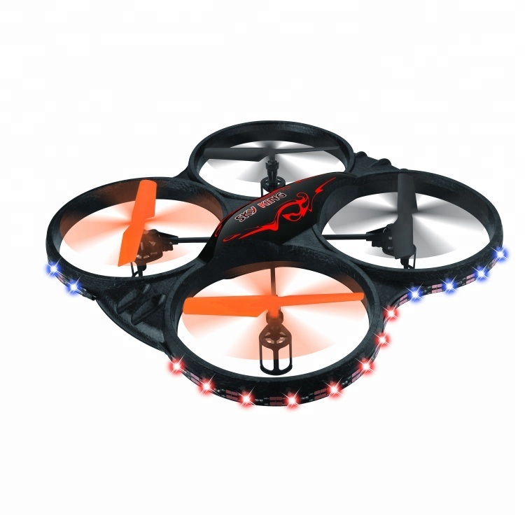 6CH 2.4G RC UFO Drone Model Sky King Mini Drone with Led Light
