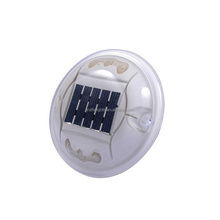 Small round solar led cat eye reflector
