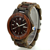 NEW design wholesale cheap wood men watches 2017 luxury with japan movt