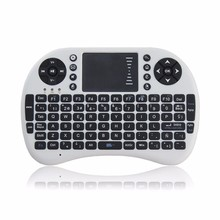 Mini 2.4G wireless fly air mouse keyboard touchpad for PC Android TV X-BOX CT