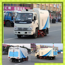 Foton MINI Street Sweeper Truck,Vacuum Suction Road Sweeper Truck 4x2 Good Quality Clearing Truck
