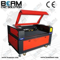 BCAM!!! Best quality most popular bcj1390 low cost plastic laser cutting machine