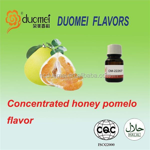 Honey pomelo flavor fruit flavor concentrate liquid food flavouring