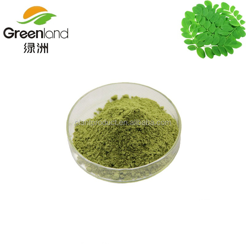 Moringa Leaf Extract Powder for health-care product raw material