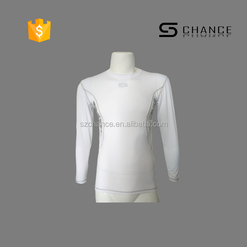 High quality Exquisite white base layer long sleeve