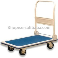 Handle Folding Platform Hand Trolley