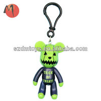 top sale plastic keychain action figure toys
