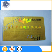 Custom Size Luxury Offset Printing Gold Foiled Black Business Card