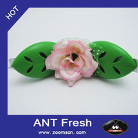 oem flower shape car vent clip membrane air freshener new product