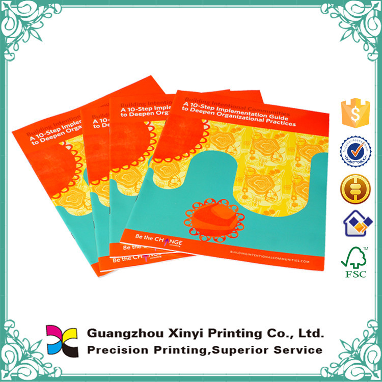 Cheap New Style Glossy Lamination Printed Coated Paper Made Printing Pamphlets