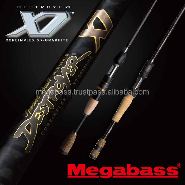 High elasticity Megabass carbon fishing rod at reasonable prices