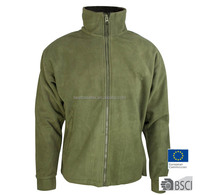 Mens Two side Brushed Fleece Jacket Snowboard MidLayer