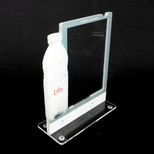 Wholesales acrylic menu holder stand for A4 ,plastic menu table tents,plastic tabletop sign holder