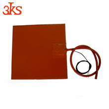 12v Freeze protection heating silicone rubber heater pad/sheet