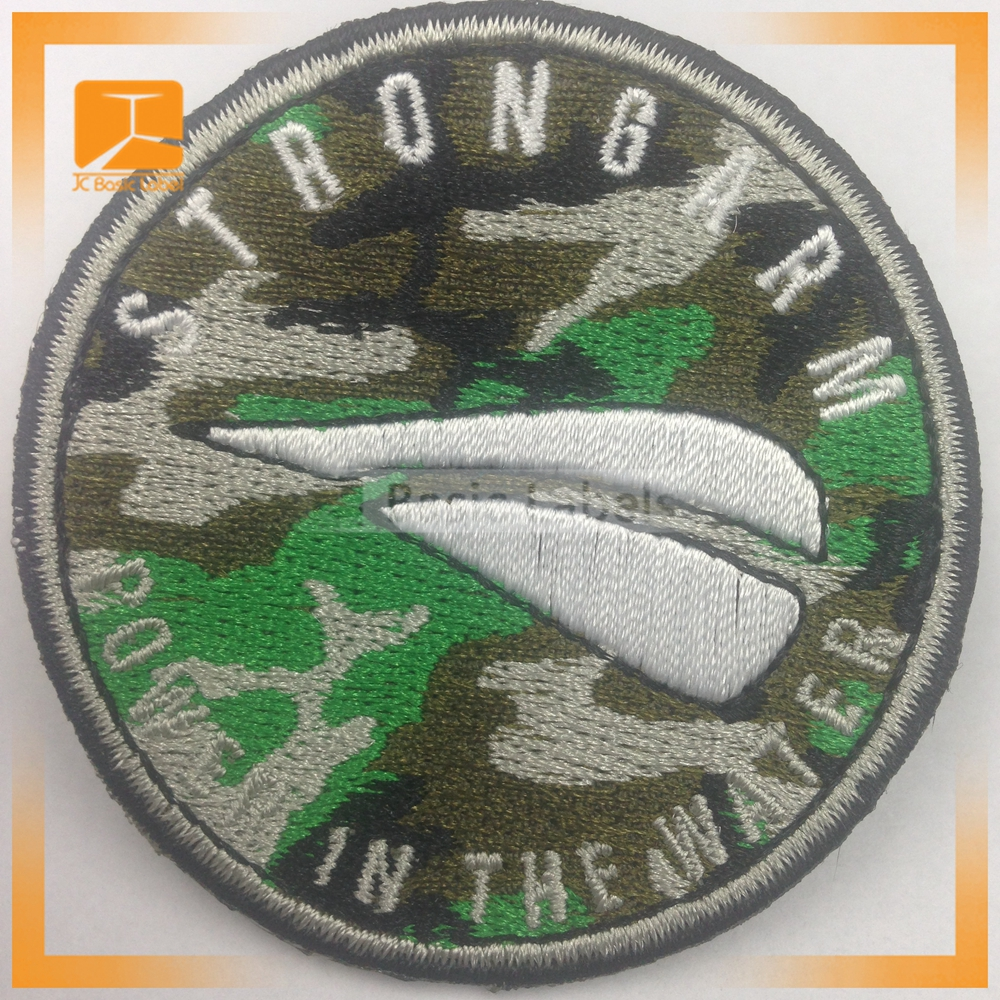 Clothing Custom Woven Patch/machine embroidery designs badges