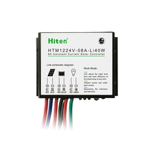 8A MPPT Solar Charge Controller With Led Driver
