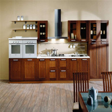 Modular Kitchen Cabinet Solid Wood Design