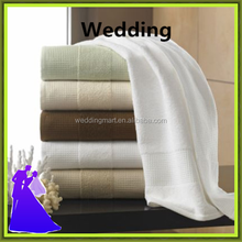 Marious Hotel white cotton towel for home from China