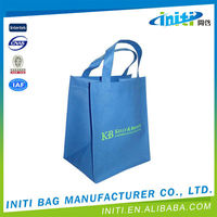 Folding eco-friendly vietnam pp woven shopping bags