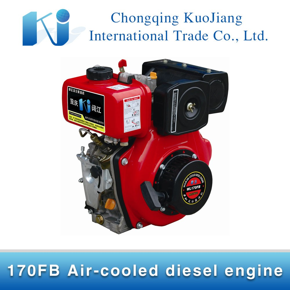 Widely Used 170FB Small 4-Stroke Air-cooled Diesel Engine for sale