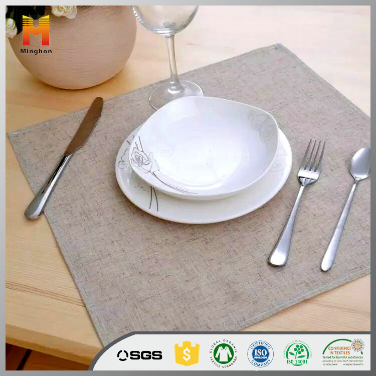 Factory Direct Sales Eco-Friendly Fashion Napkin Linen Cotton Embroidered